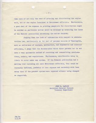 Memorandum from John G. Laylin, March 5, 1934, p2 NAID 12011779