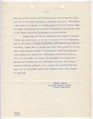 Memorandum from John G. Laylin, March 5, 1934, p2 NAID 12011779