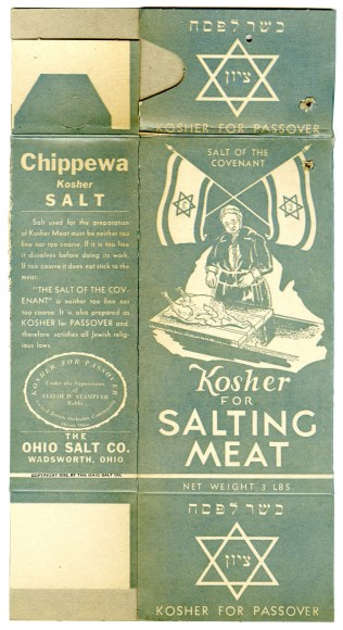43592 - Chippewa Kosher Salt - The Ohio Salt Company, 1934