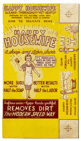 49294 - Happy Housewife, A Cleansing Compound - George B. Conner, Doing Business as Happy Housewife Co. Ltd., 1937, NAID 22126290