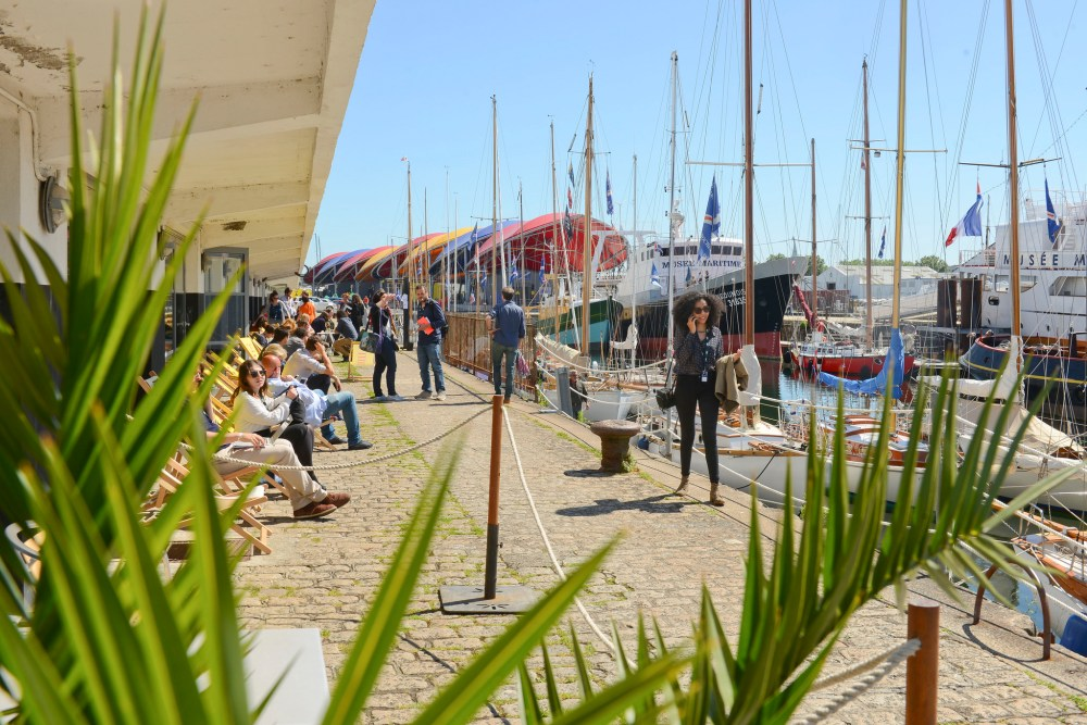 picture of film and documentary festival Sunny Side of the Doc taking place at La Rochelle