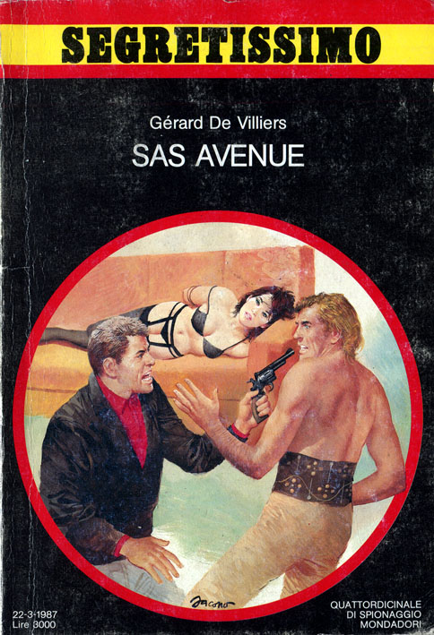 SAS Avenue (Segretissimo 1067)