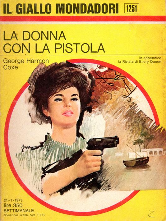 La donna con la pistola (Giallo Mondadori 1251)