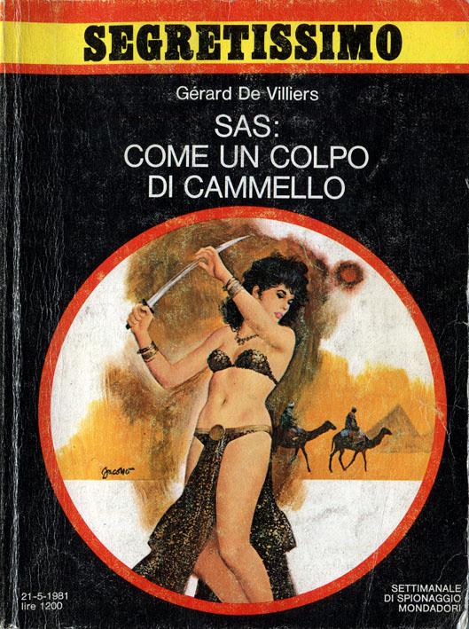 SAS Come un colpo di cammello (Segretissimo 912)