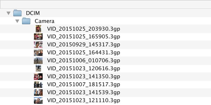 Offload your original files.