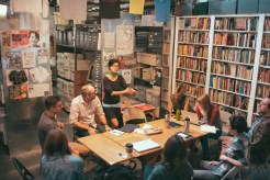 General meeting at Interference Archive, 2014