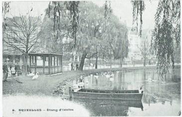 Un des étangs d'Ixelles