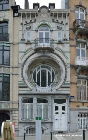 Villa Beau-Site, avenue du Mont Kemmel n°5 (Forest), architecte : Arthur Nelissen | Villa Beau-Site, Kemmelberglaan nr. 5 (Vorst), architect : Arthur Nelissen – photo : © Monuments & Sites – Bruxelles