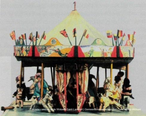 Edgard TYTGAT, Carrousel, 1916, collection du Musée communal de Woluwe-Saint-Lambert
