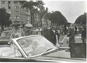 Fête nationale du 21 juillet 1964, photo, Archives communales de Woluwe-Saint-Pierre | Nationale feestdag van 21 juli 1964, foto, Gemeentearchief van Sint-Pieters-Woluwe
