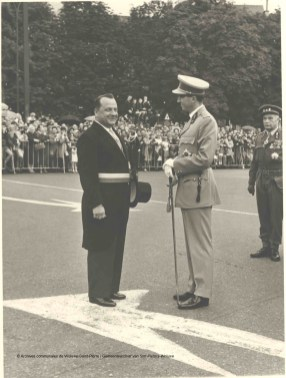 Fête nationale du 21 juillet 1965, photo, Archives communales de Woluwe-Saint-Pierre | Nationale feestdag van 21 juli 1965, foto, Gemeentearchief van Sint-Pieters-Woluwe