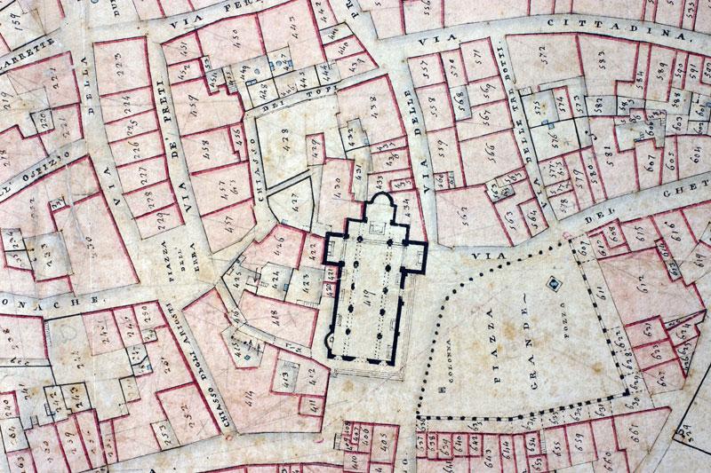 Archivi in Toscana La rappresentazione del territorio