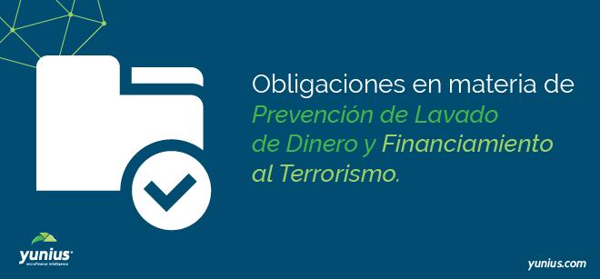 obligaciones PLD/FT