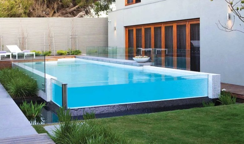 Aquarium-Like Above Ground Pool