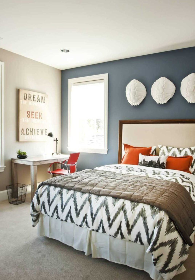 Bedroom Headboard Accent Wall