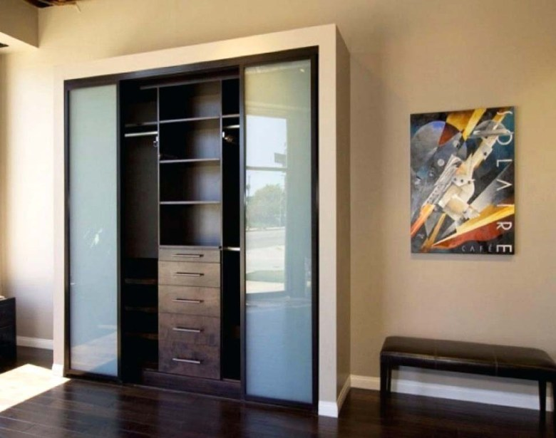 Frosted Glass Closet Door Ideas