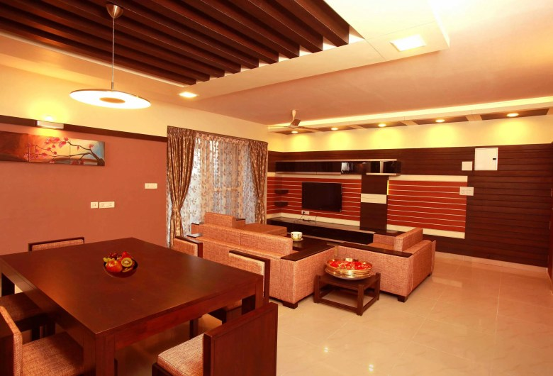 Indian Style Hall Interior Design