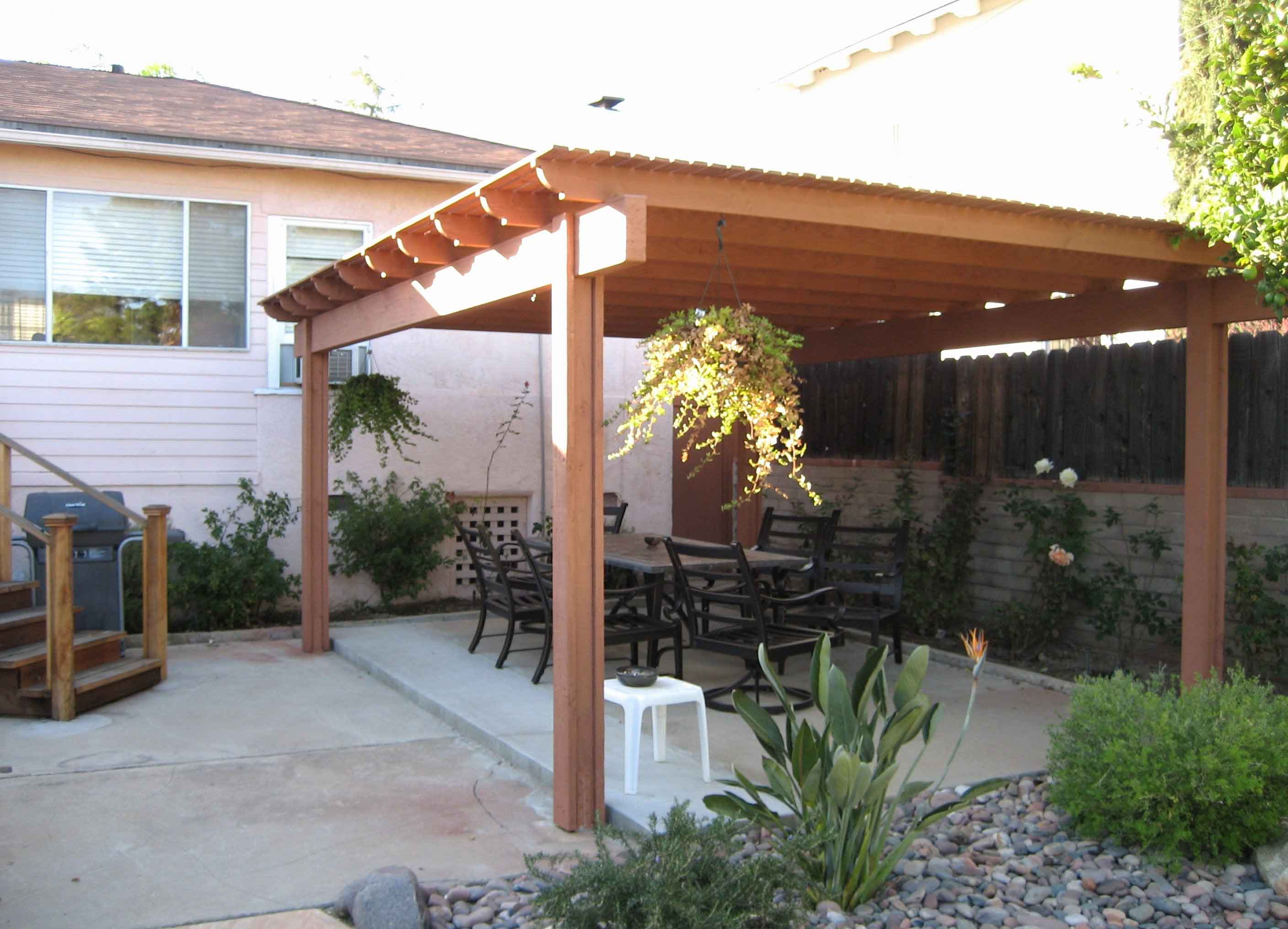 How to Build A Freestanding Patio Cover with Best 10 Samples Ideas  ARCHLUXNET
