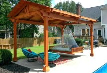 build freestanding patio