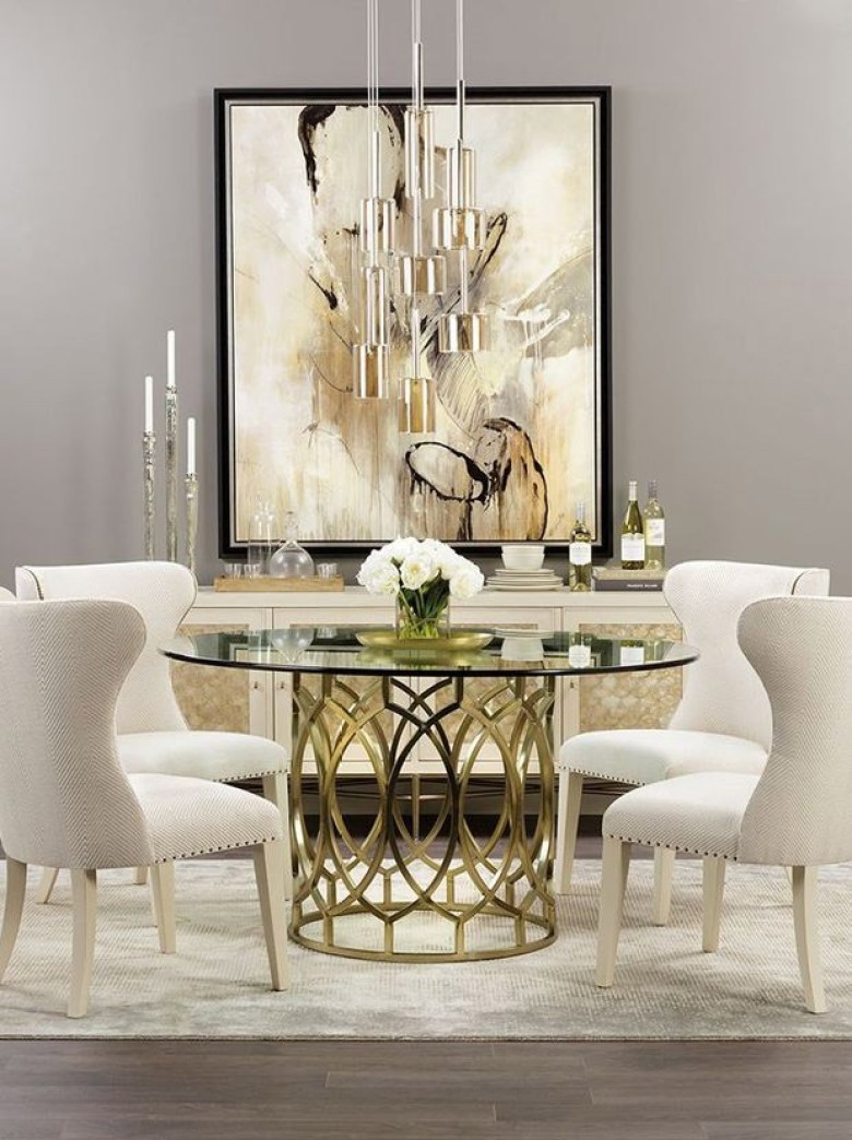 Luxurious Small Dining Room