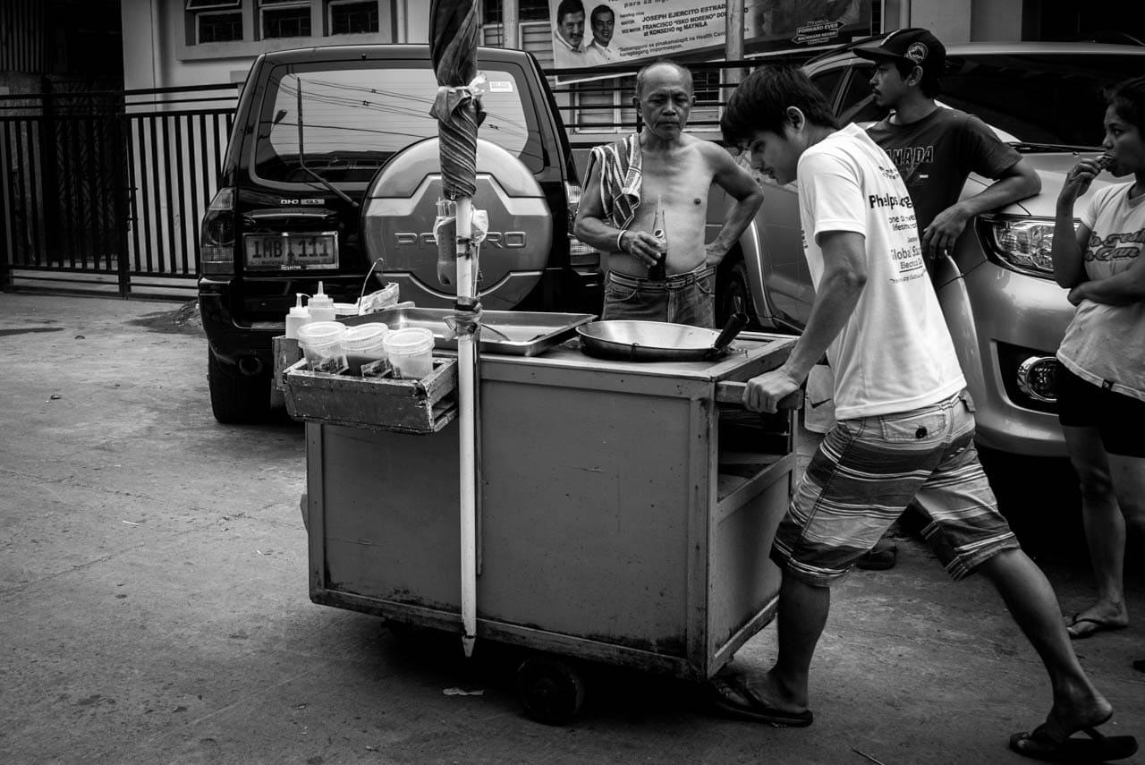 Streets of Manila: Fishball Vendor