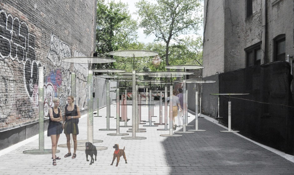 Temporary Installation In East Village Park Is An Urban