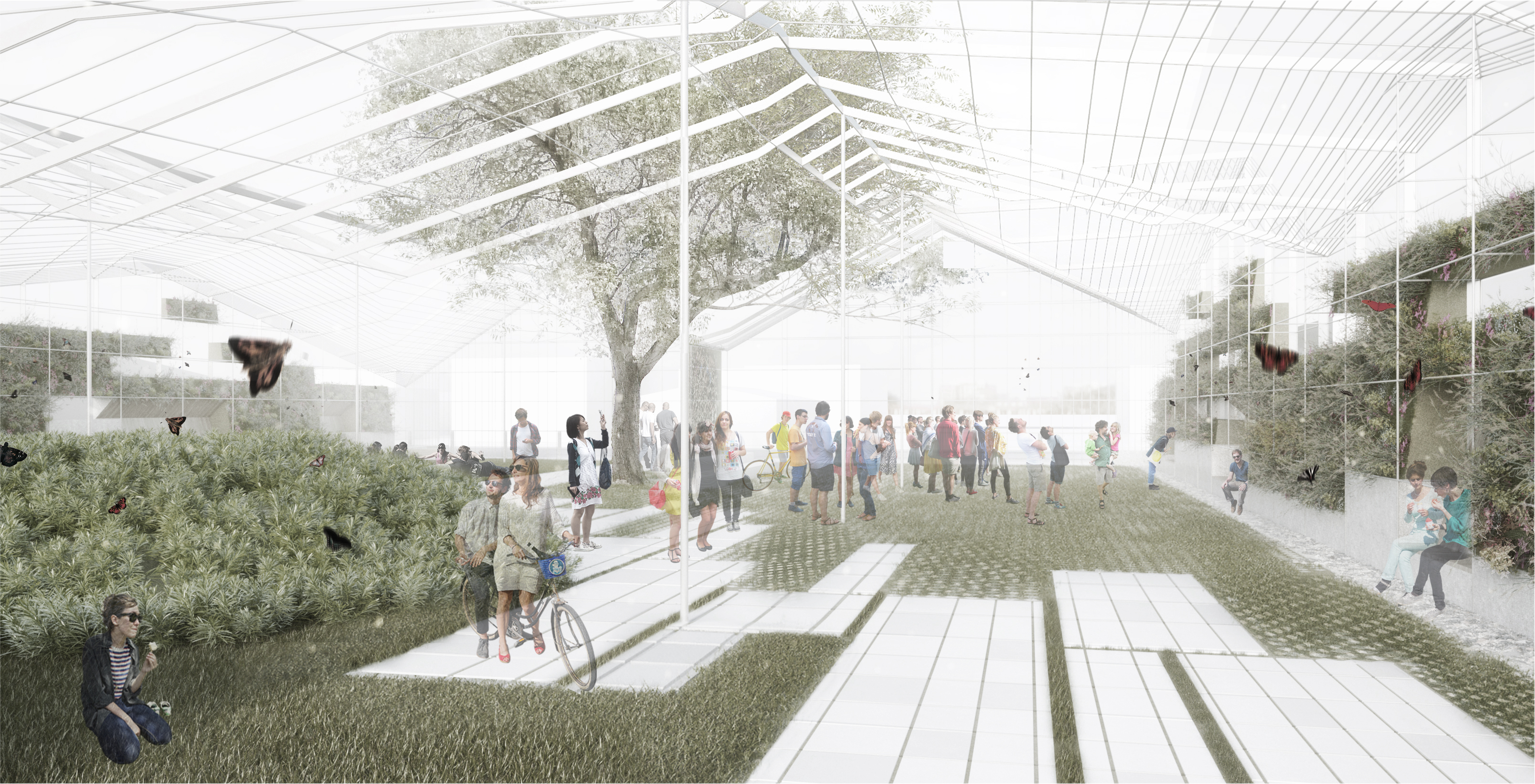 A greenhouseinspired park to bring new public space to