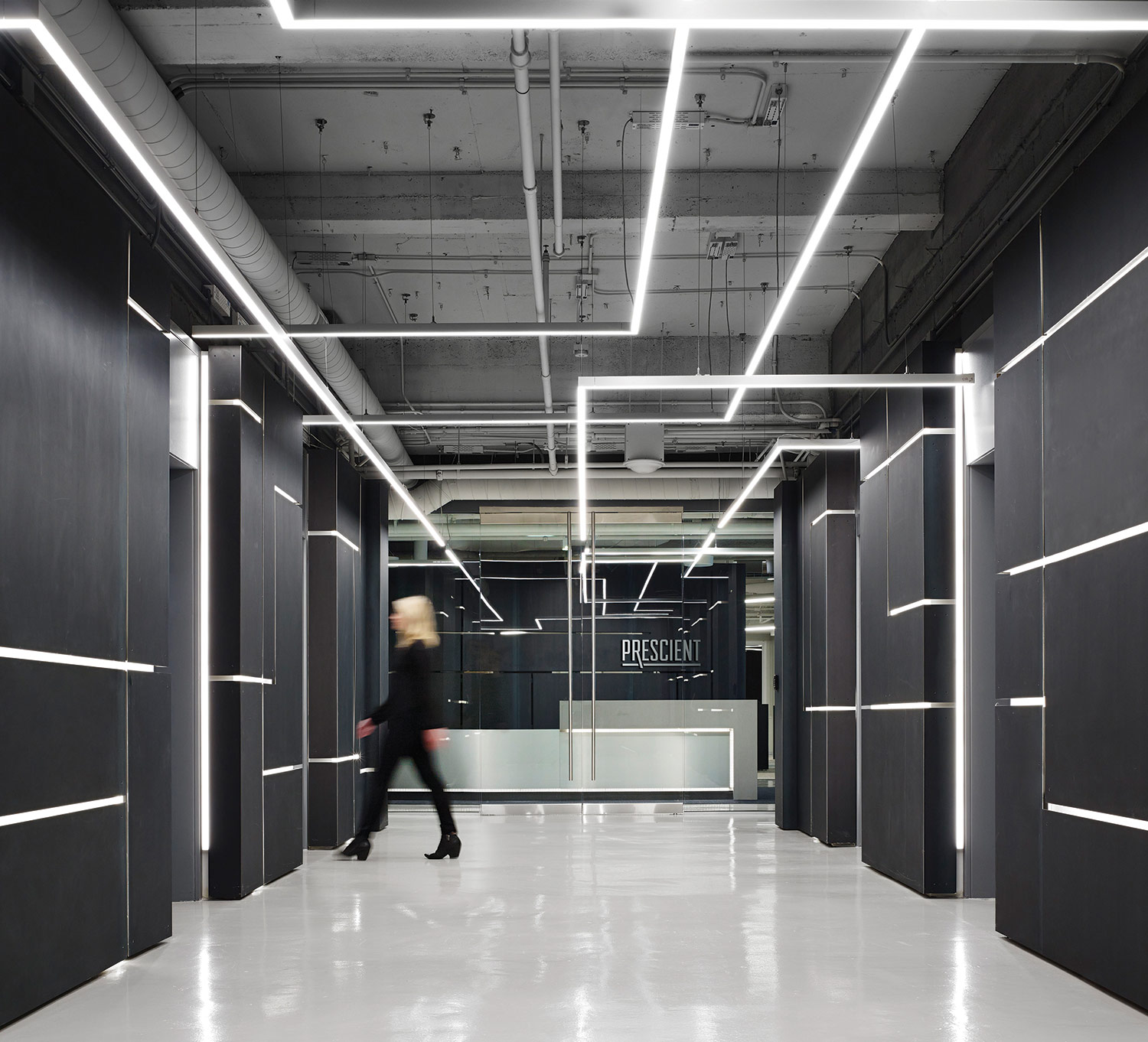 PerkinsWill uses coziness in a hightech security firms office  Archpapercom