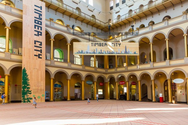 """timber City"" Exhibition Opens National Building Museum"
