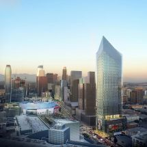 Renderings Revealed 1300 Figueroa Gensler' Tenth
