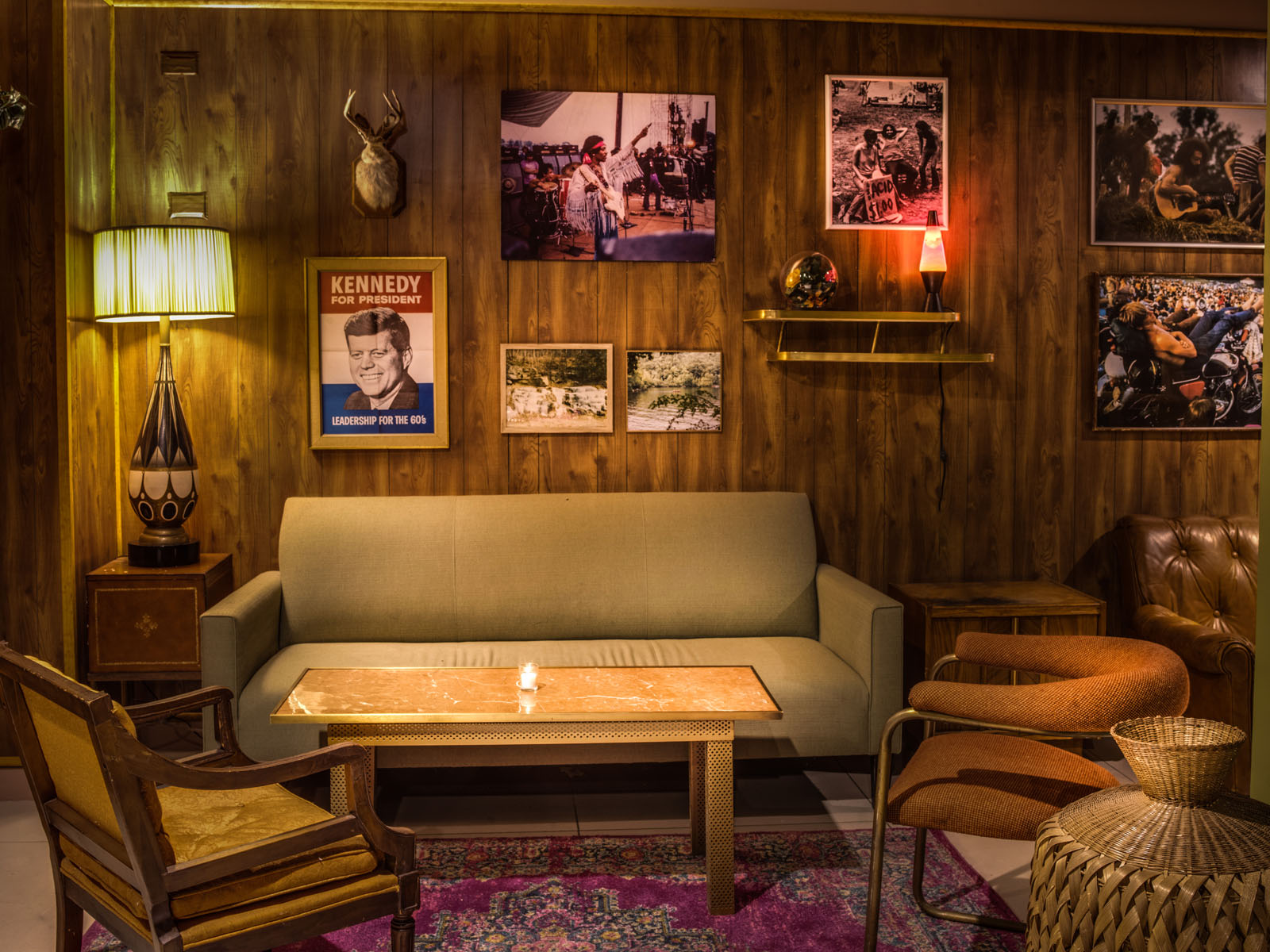A trippy throwback bar with 60s vibes opens in Chelsea