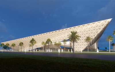 Dar Al-Uloum Library Competition Entry   ArchXenus