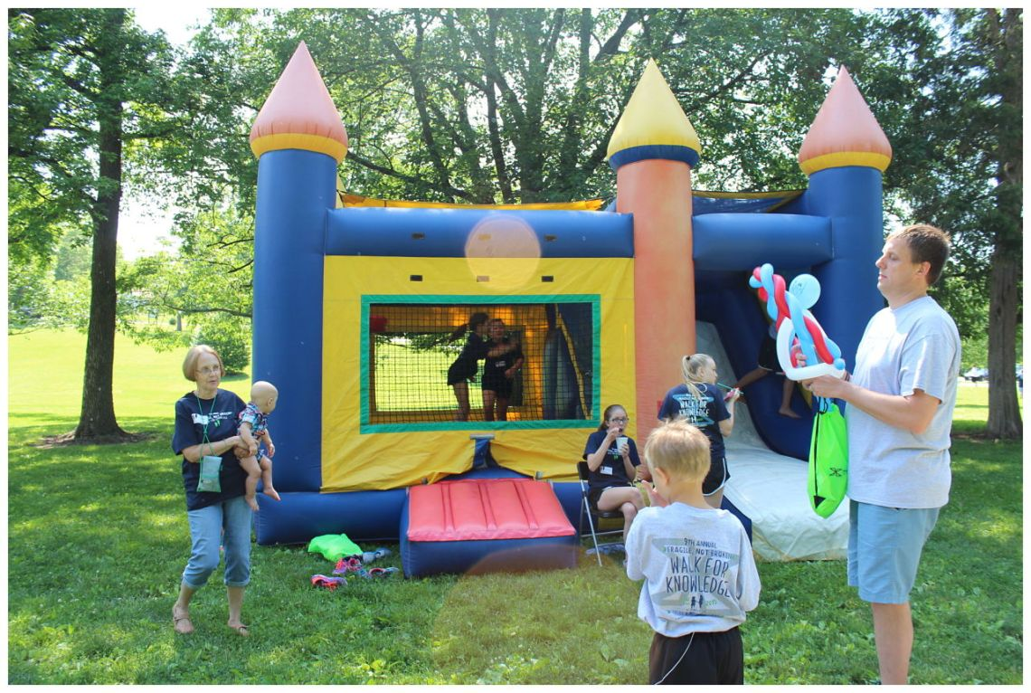 St. Louis Fragile X Walk - Bounce House