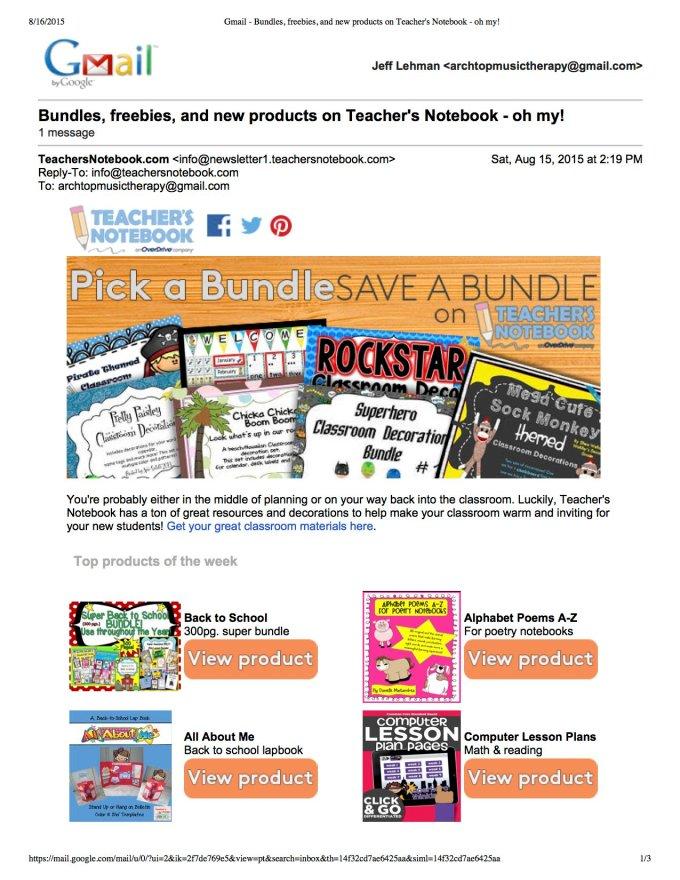 Teachers Notebook Shop Of The Week p1