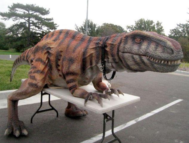 Walk Now For Autism Speaks Dinosaur