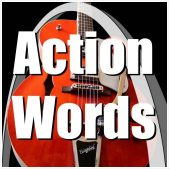 Archtop Music Therapy Action Words