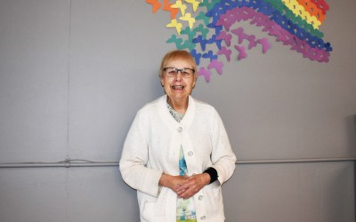 Keeping Busy and Being Helpful at Discovery: Betty Lou's Story