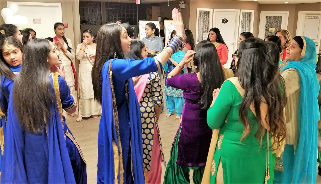 women dance at ladies night event in abbotsford