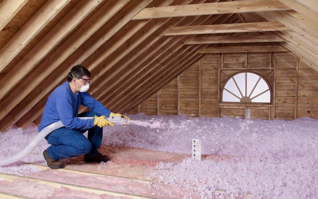 Let Archway Contracting help you with your Attic Insulation, We use blow in attic insulation. We repair or replace new roofing, siding, windows and gutters