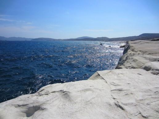 isola di sarakiniko-milos