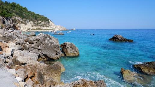 Aghios Nikitas spiaggia