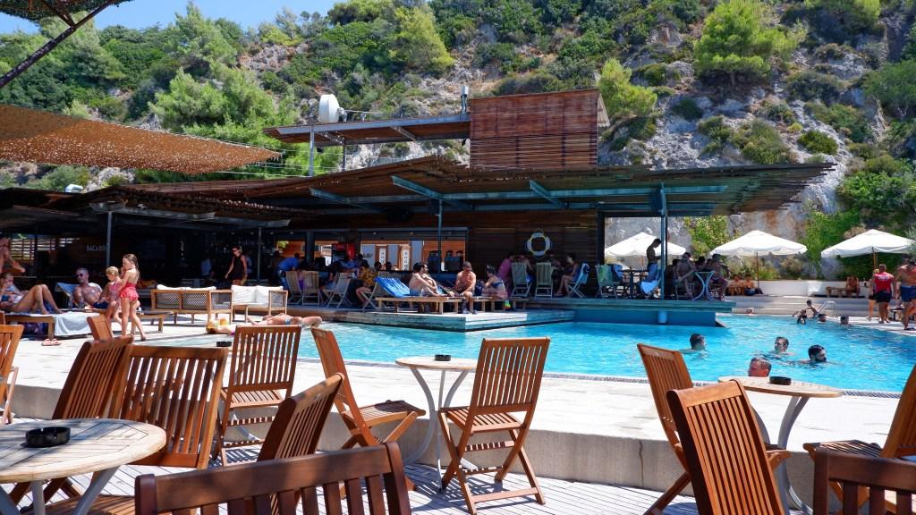 Copla Beach bar