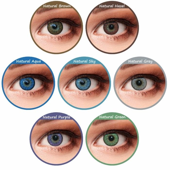 Brown Green Eye Color Name Todayss