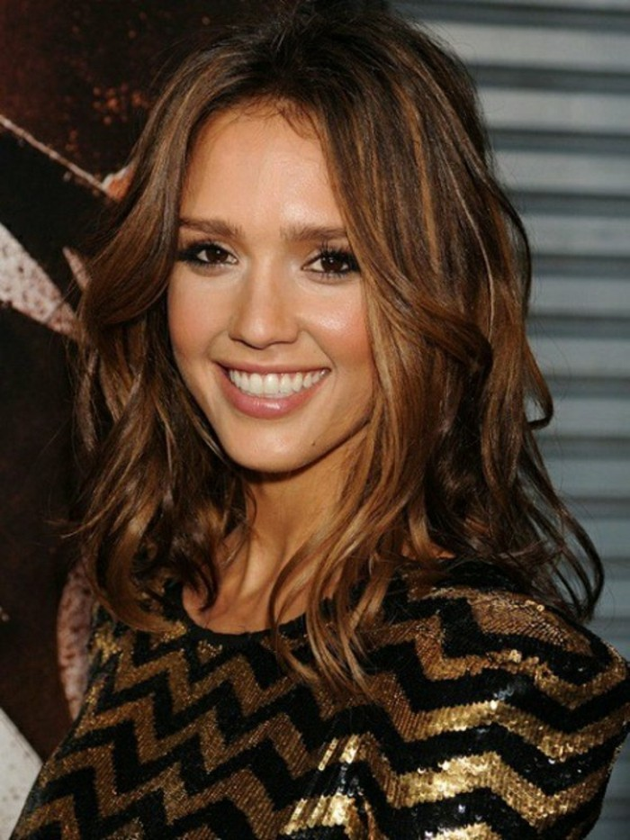 Jessica Alba Light Brown Hair