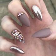 1001 ideas pointy nails