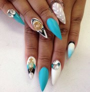 1001 ideas pointy nails