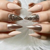 1001 + Ideas for Pointy Nails - Design and Inspiration