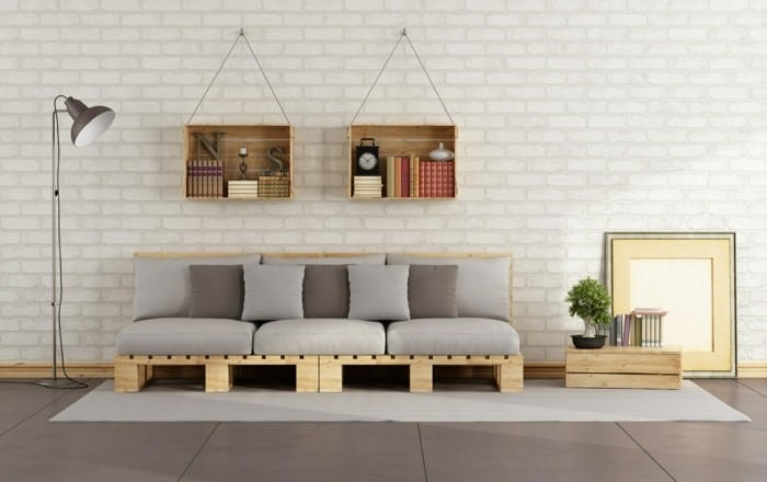 how to make a pallet couch tutorial and 60 great ideas