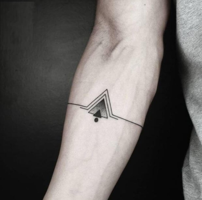 Masculine Small Wrist Tattoos For Men