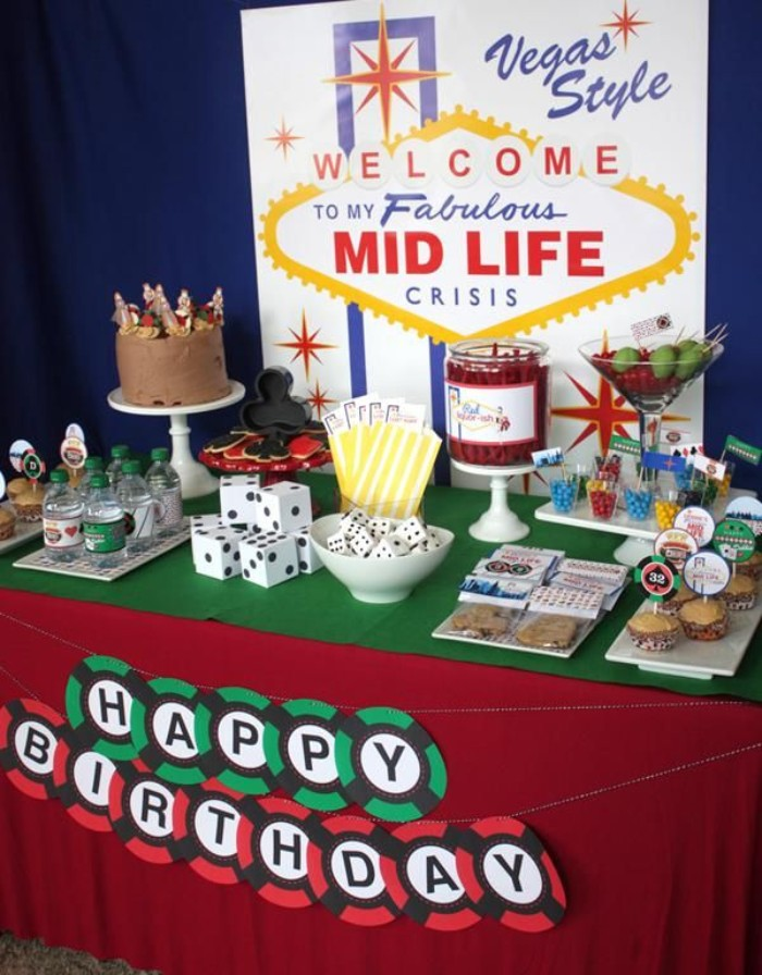 1001 50th birthday party